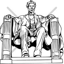 lincoln memorial building clipart. lincoln memorial clipart building g