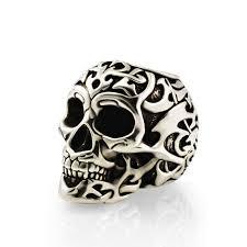Купите <b>бусину Tribal skull</b> из серебра