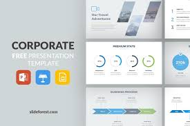 Powerpoint Presentation Templates For Business Corporate Free Presentation Template