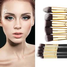 new arrival 8pcs makeup brush blend shadow angled eyeliner smoked bloom eye brushes set quality