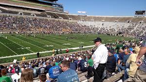 Notre Dame Stadium Section 13 Rateyourseats Com