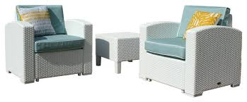 side table white with blue fabric