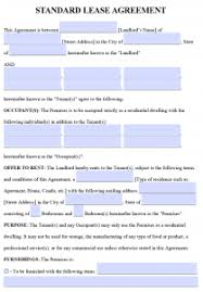lease contract template free printable rental lease agreement templates pdf word
