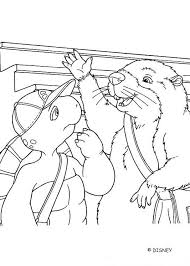 Small Picture Beaver franklins friend coloring pages Hellokidscom