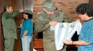 Cubainformacion - Artículo: Fidel, hoy se encontró con Maradona