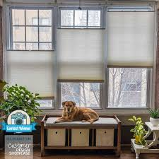 top down shades. Deluxe Cordless Top Down Bottom Up Cellular Shades O