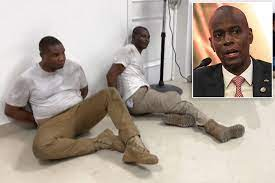 Individuals detained in Haiti ...