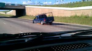 car driving on highway.  Driving Driving On Highway With No Tire And Car On Highway