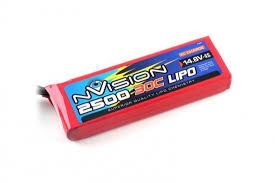 <b>Аккумулятор nVision LiPo</b> 2500mAh 30C 14.8V 4S в интернет ...
