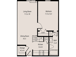 One Bedroom   Sutton Grove Senior Apartments