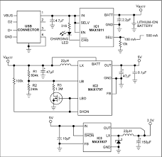 portable supply derives 5v and 3 3v power from usb port drawing power from a usb port this circuit generates 5v and
