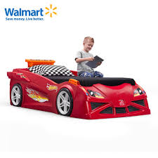Hot Wheels Toddler-to-Twin Race Car Bed is one of the