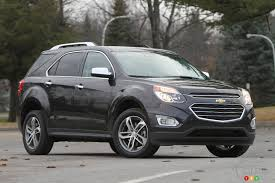 the 2016 chevy equinox ltz is all about