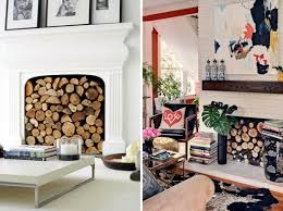 decorate the unused fireplace in the living room 20 creative decorating ideas