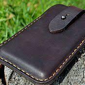 <b>Чехол</b> для <b>iPhone</b> 7 из шорно седельной кожи с кармашками для ...
