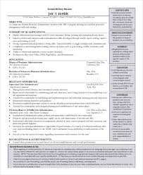 Military Resume Stunning Military Resume 28 Free Word PDF Documents Download Free