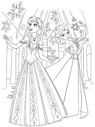 Disney Printable Coloring Pages From Frozen