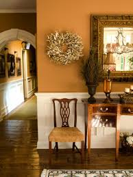 Foyer Wall Colors Fall Decorating Ideas Simple Ways To Cozy Up Hgtv Decorating