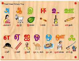 Tamil Alphabets Chart With Pictures 2019