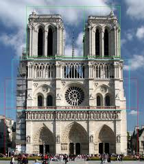 classic architectural buildings. Fine Buildings Notre Dame In Paris Illustrating Golden Ratios In Classic Architectural Buildings