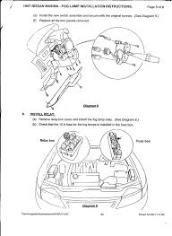 fog light install instructions 97 99 maxima forums thought this might be helpful