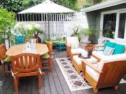 wood deck furniture ideas patio
