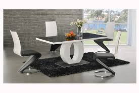 unusual dining room furniture. Ingenious White Dining Table With Circle Leg And Unusual Chairs Design From Ashley Furniture Room F