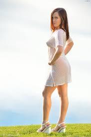 Women outdoors sexy dress nude