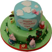 Peppa Pig Birthday Cake Childrens Nottingham