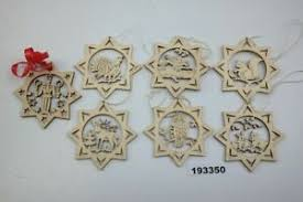 Baumbehang Laubsäge Sterne Tiere Bergmann Holz