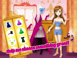 fairytale princess makeover dress up makeup