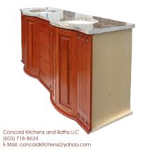 Curved Bathroom Vanity Cabinet Kitchen Cabinets Kitchen Countertops Ma Bathroom Vanity Boston