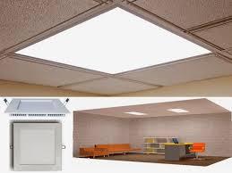 office light fixtures. LED Panel Light Fixture At Office Fixtures