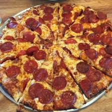 photo of round table pizza san jose ca united states large pepperoni