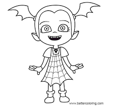 Vampirina Coloring Pages Outline Image Free Printable Coloring Pages