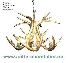 faux white antler chandelier medium image for deer