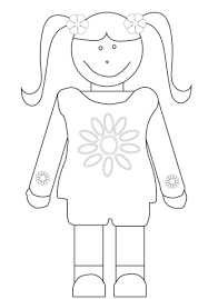 Daisy Girl Scout Coloring Page Free Printable Coloring Pages