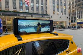 Taxi Advertising And Design Toronto Curb Taxi Media