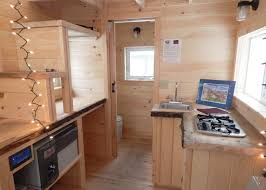tiny house plumbing. 8x16 Charlavail - A Look Into This Tiny House Interior Featuring Kitchenette And Bathroom. Plumbing