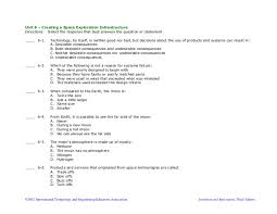 Multiple Questions Test Technology Design And Innovation Summative Multiple Choice