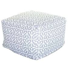 gray indoor outdoor ottoman cushion round cushions n