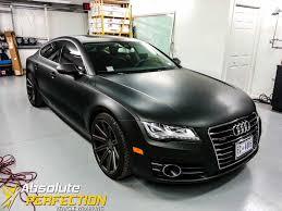 audi a7 blacked out. vehicle wraps vinyl graphics car wrapping baltimore audi a7 blacked out