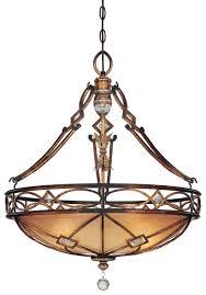 minka lavery aston court 3 light pendant in bronze