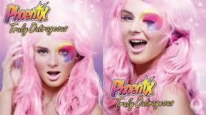 jem the holograms makeup show at nz fashion week phoenix renata