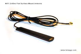flat wifi window mount signal booster antenna