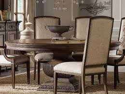 round dining room table images. hooker furniture rhapsody rustic walnut 60\u0027\u0027 wide round dining table room images