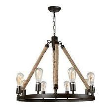 rustic pendant lighting. LNC Vintage Chandeliers 8-Light Kitchen Island Chandelier Lighting Rustic Pendant O
