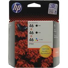 Оригинальные <b>картриджи HP</b> 3-Pack CZ637AE (<b>№46</b> ...