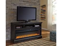 lg tv stand. signature design by ashley sharlowe lg tv stand w/fireplace option w635-30 lg tv