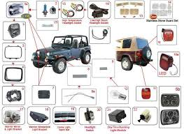 95 yj tail light wiring diagram 95 image wiring jeep wrangler lights yj lights 87 95 morris 4x4 center on 95 yj tail light wiring